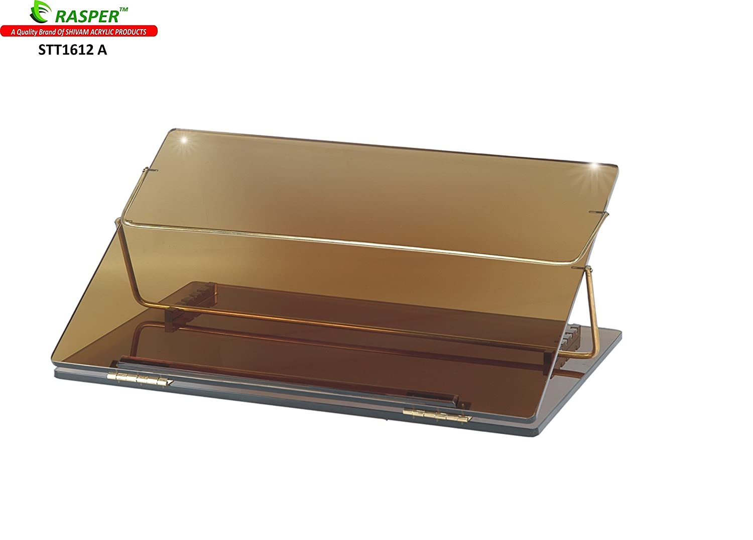 table top. rasper acrylic table top elevator writing desk (small size 16*12 inches) with adjustable height: amazon.in: office products