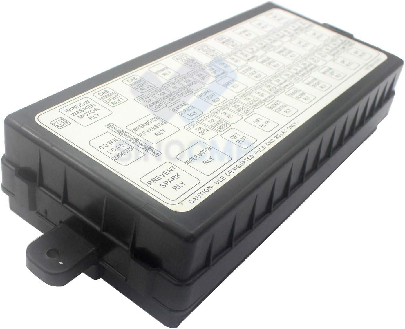 Amazon.com: YN24E00016F2 YY24E00008F2 Fuse Relay Box - SINOCMP Relay  Assembly Controller Monitor Fuse Relay Box for Kobelco SK200-8 SK230-8  SK210-8 SK250-8 SK350-8 Excavator Parts, 3 Month Warranty: AutomotiveAmazon.com