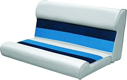 """37/"""" Deluxe Boat Bench Seat Sand Foam Padding Steel Frame Chair Cushion Lounge"""