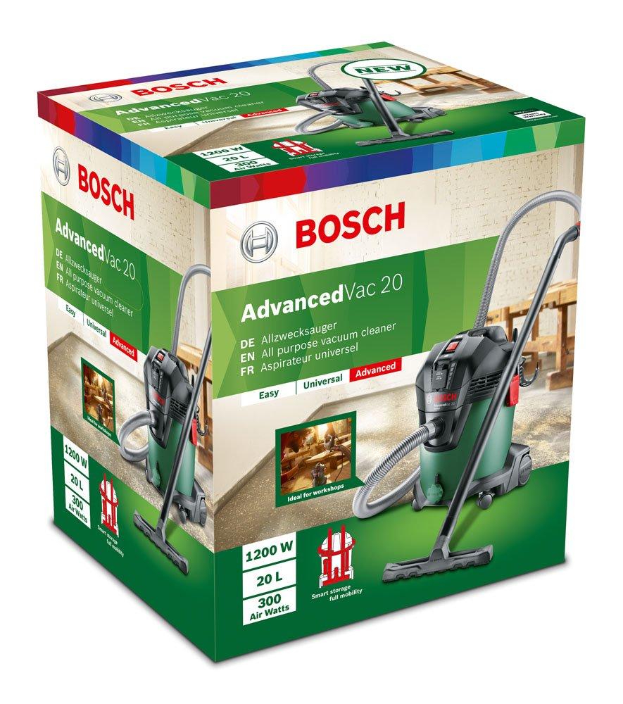 Bosch 06033D12W0 Aspirateur eau et poussi/ère AdvancedVac 20