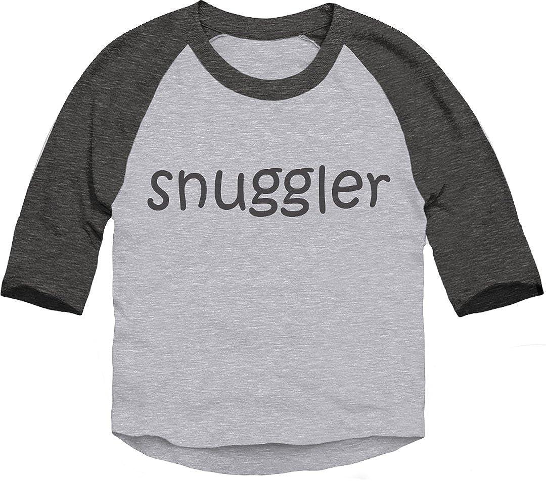 Trunk Candy Toddler Snuggler 3//4 Sleeve Dual Blend Raglan Baseball T-Shirt