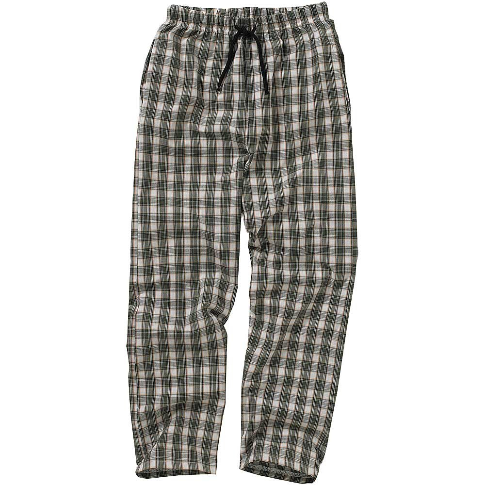 Bedlam Older Boys Checked Long Pyjama Trousers Lounge Pants