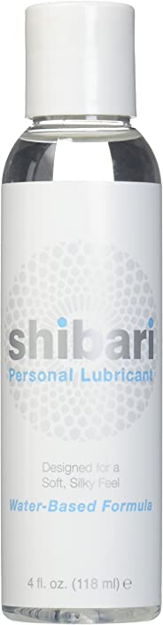 Shibari Water Based Intimate Lubricant, 4oz Bottle