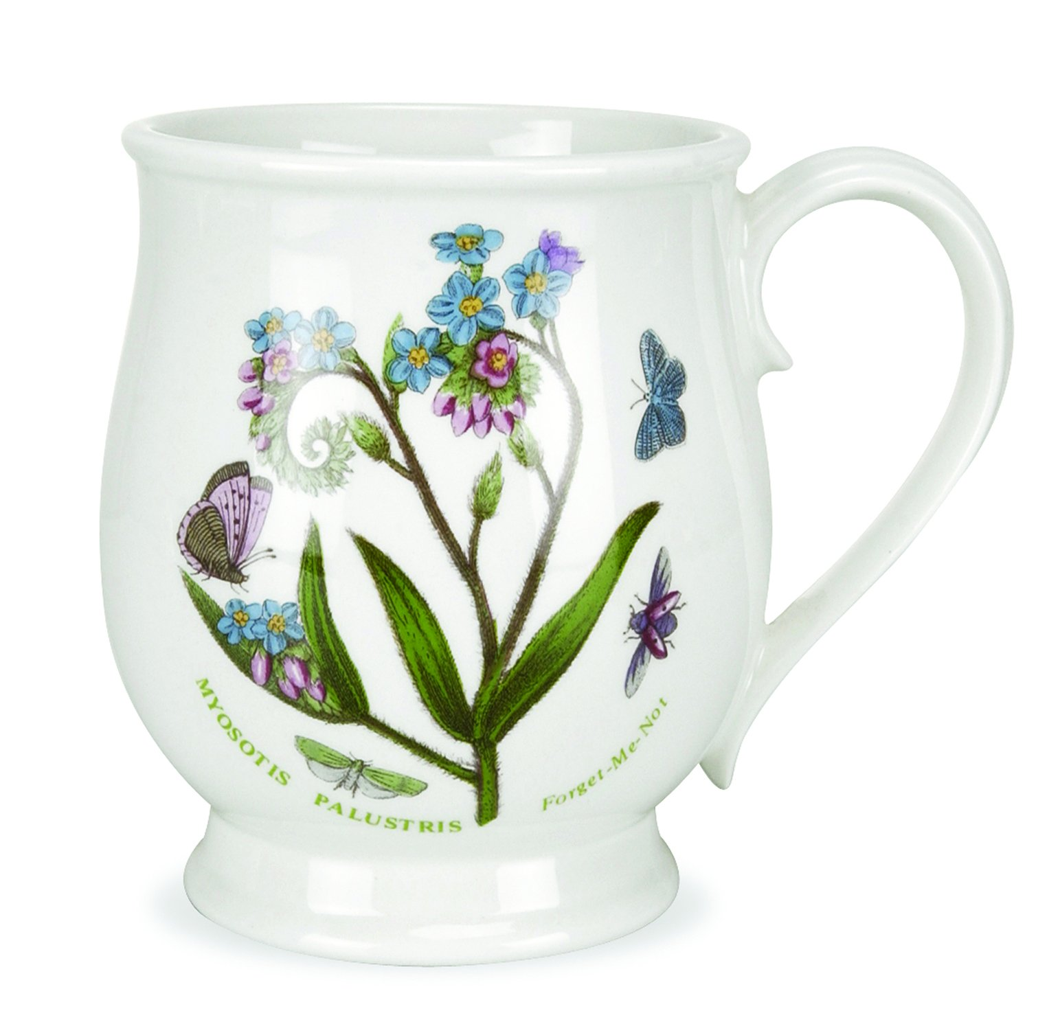 Portmeirion Botanic Garden Bristol Mug 14 Oz. Assorted Set of 6