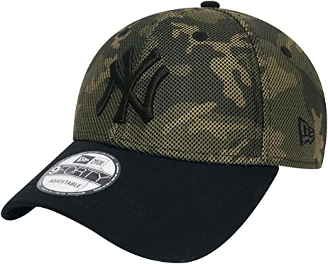 5612792338aa New Era 9Forty Mesh Overlay MLB New York Yankees Cap Camouflage   Amazon.co.uk  Clothing