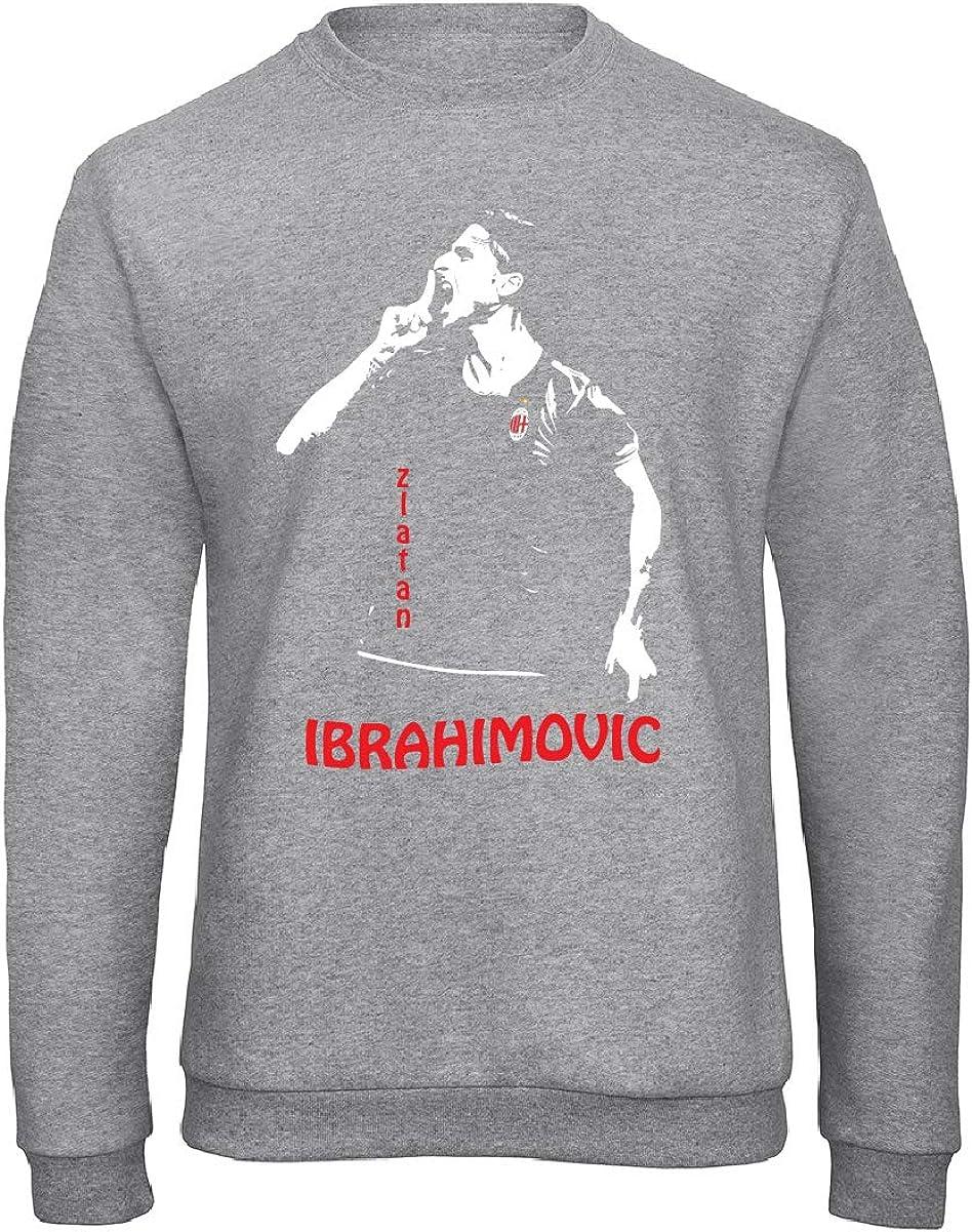 Uomo Felpa Raglan Zlatan Ibrahimovic Art T-shirt