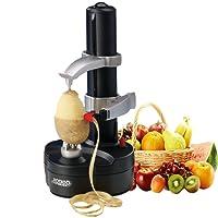 Vinteky Efficient Electric Kitchenaid Potato Apple Carrot Vegetable Fruit Peeler Machine