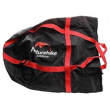 NatureHike Peso Ligero Compresion Cosas Saco Acampar Exterior Saco de Dormir Paquete Almacenamiento transporte Bolsa Negro: Amazon.es: Deportes y aire libre