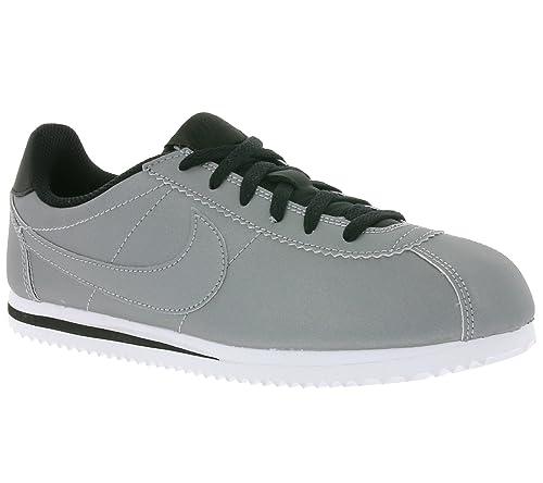 Zapatillas Nike Cortez Premium (Gs) plateadoplateado