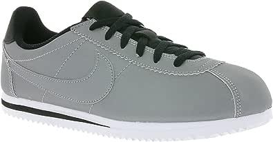 Nike Cortez Premium Zapatos Unisex EN Cuero Plateado 905469-001
