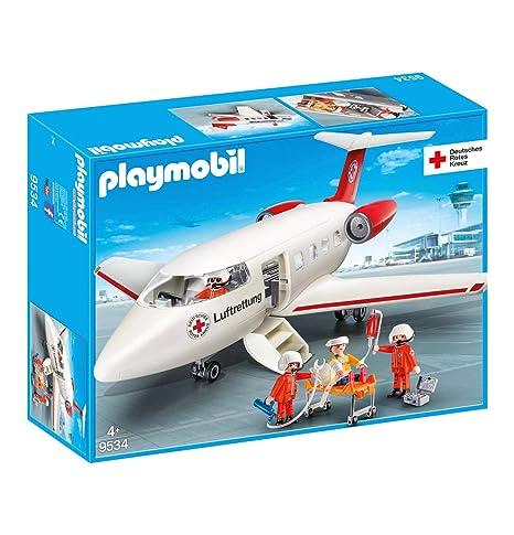 9534 De Rescate Juegos Y AvionesAmazon Playmobil esJuguetes Drk OPTwkZilXu