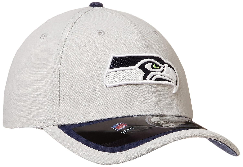 quality design 95ae7 49193 NFL Seattle Seahawks 2015 39Thirty Stretch Fit Cap, Medium Large, Gray,  Baseball Caps - Amazon Canada