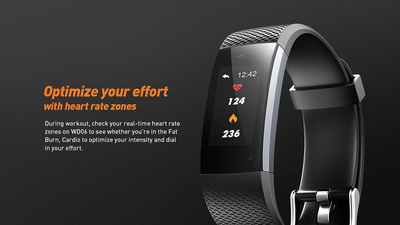 Lenovo Fitness Tracker, Original Fitness Tracker Heart Rate Monitor, Color  Screen Sport Smart Watch, IP67 Waterproof Activity Tracker, Step Calorie