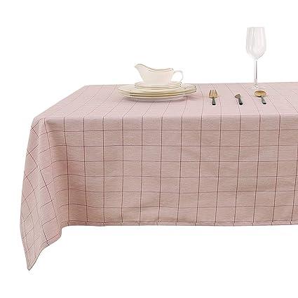 amazon com deconovo red rectangle tablecloth cloth table cloth rh amazon com buffet table top covers buffet table top covers