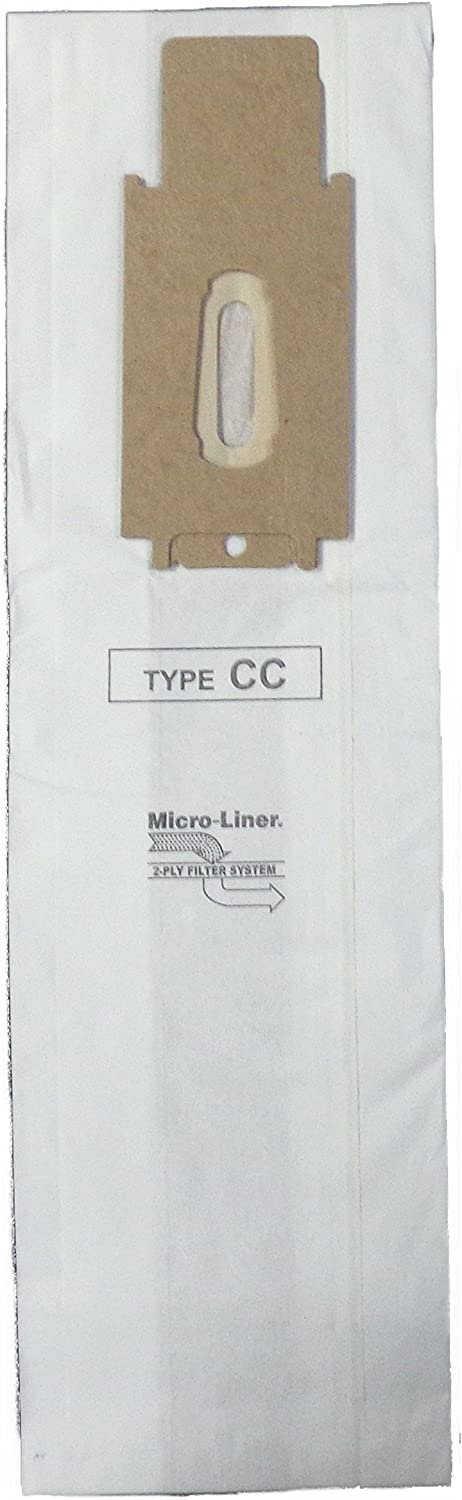 Microlined Filtration Bags 8 Bags - Compatible with Oreck XL & CC, CCPK80H, CCPK80F, CCPK8DW, PK80009, PK80009DW, CCPK8 with Bag Dock