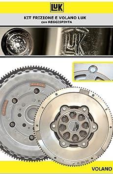 624313633 + 415016810 - Kit de embrague y Volante + Cojinete de empuje, original LUK: Amazon.es: Coche y moto