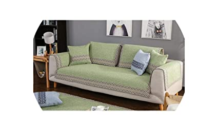 Amazon.com: Modern Sofa Cover 100% Cotton Geometric Printed ...