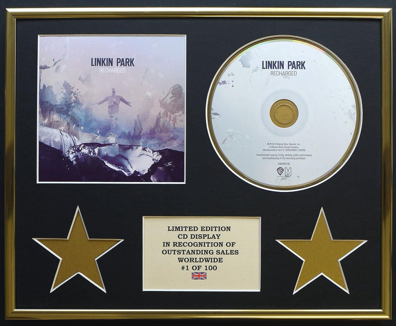 LINKIN PARK/CD Display/Limitata Edizione/Certificato di autenticità /RECHARGED Everythingcollectible