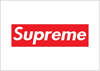 Image Unavailable Not Available For Colour Supreme Box Logo Poster