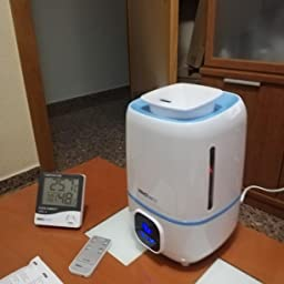 InnoBeta Fountain Humidificador Ultrasónica 3,0Litro Bebé de ...