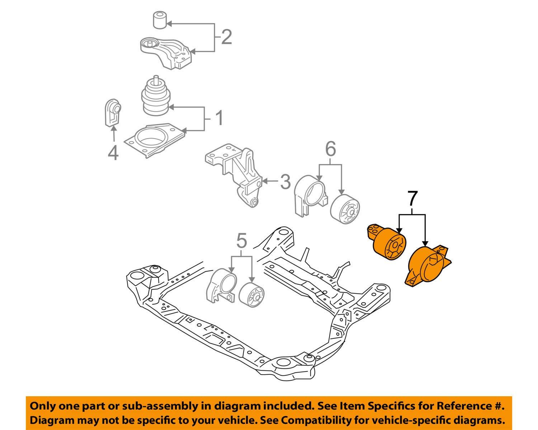 genuine hyundai 21830-1g200 transaxle mounting bracket assembly, automatic  transmission assemblies - amazon canada