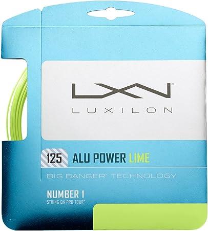 FREE SHIPPING Set of Luxilon Alu Power 125 16L Big Banger String ORIGINAL PACKG