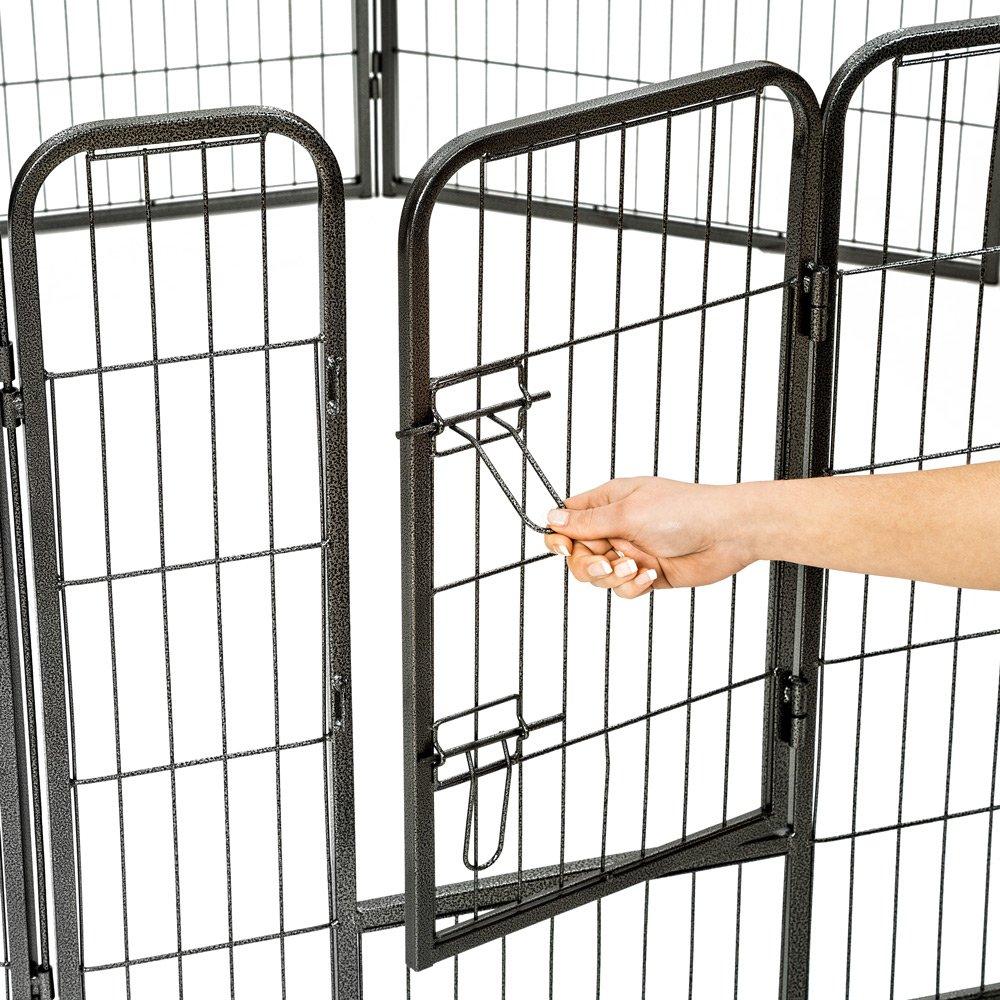 TecTake Parque para mascotas valla libre corriendo jaula para animales - varios  modelos - (8 vallas | no. 401717): Amazon.es: Hogar
