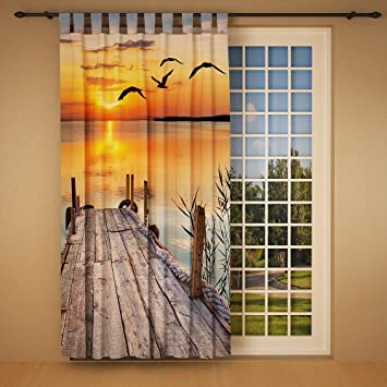Amazon De Clever Kauf 24 Schlaufenschal Vorhang Gardine See Mit