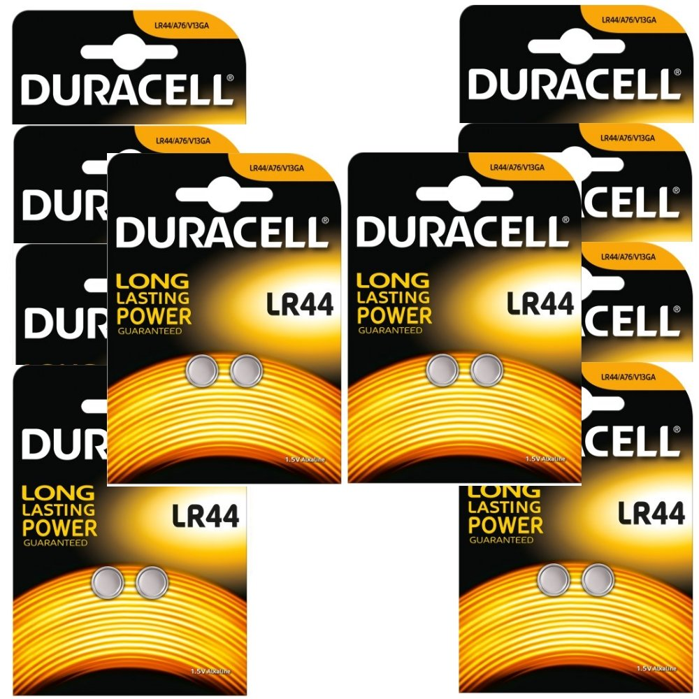 20 X Duracell Lr44 A76 15v Alkaline Batteries Arta Cutaway Diagram Show A Typical Cell Or Battery With Electronics