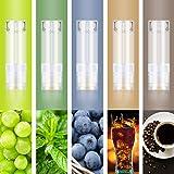 DBL プルームテック プラス 互換 カートリッジ 液漏れ防止 メンソール5風味 MIX-A(マスカット ブルーベリー コーヒー コーラ ミント)