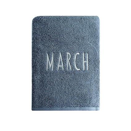 Toallas de baño VOne algodón Espesa la absorción de Agua El Aumento Masculino y Femenino de