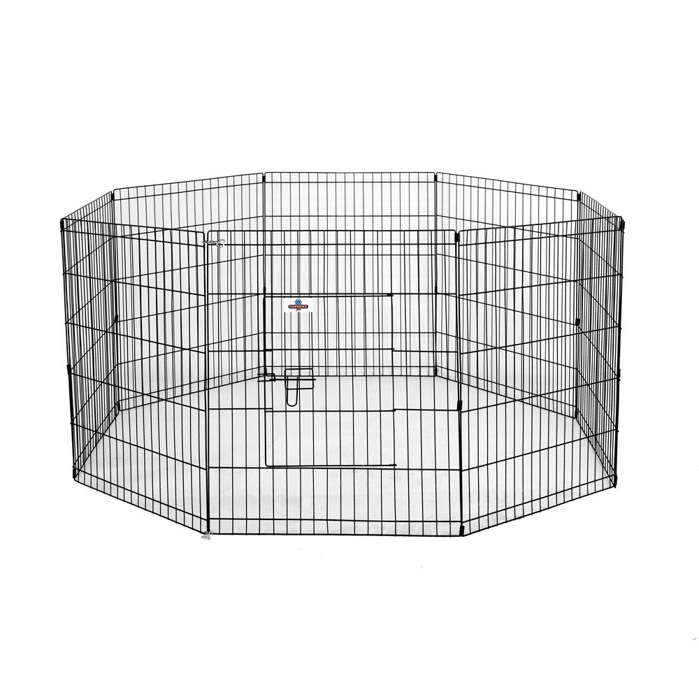 Confidence Pet Premium Metal Dog Playpen/Exercise Pen 30-inch by Confidence