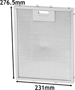 Spares2go Filtro de grasa de malla de metal para campana extractora de campana de cocina AEG (231 x 276 mm): Amazon.es: Hogar