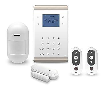 Neue WiFi + GSM Wireless-Intruder Einbrecher Sicherheit Alarm System ...