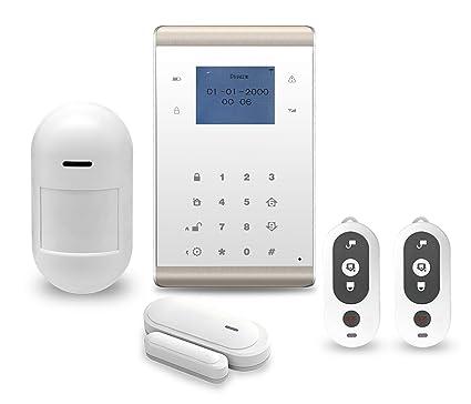 Nueva Wifi + GSM inalámbrico Intruder antirrobo sistema de ...