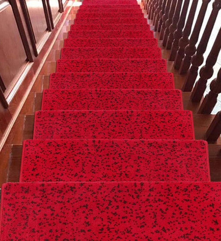 MYMAO 01Escaleras alfombras Europeas alfombras escaleras Auto-Adhesivas tapetes casa escaleras Velcro escaleras de Fondo tapetes (5 Sets, 12 Colores),8#5pieces,65x(24+3) cm: Amazon.es: Hogar