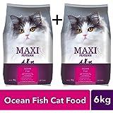 Maxi Persian Ocean Fish Cat Food, 3kg (Buy 1 Get 1 Free)