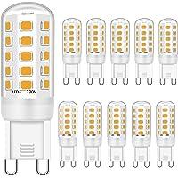 G9 LED-lampen, 3 W, komt overeen met 28 W, 30 W, 40 W, halogeenlamp, warmwit 3000 K, G9 LED-lamp, geen flikkeren, geen…