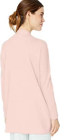 Amazon Essentials Lightweight Lounge Terry Open-Front Cardigan - Pajama-Tops Mujer