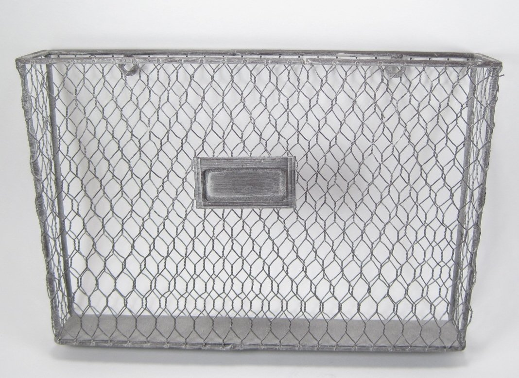 Amazon.com : Liza Metal Single File Folder Holder - Chicken Wire Off ...