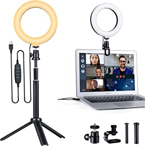 Ring Light for Laptop Computer, 6