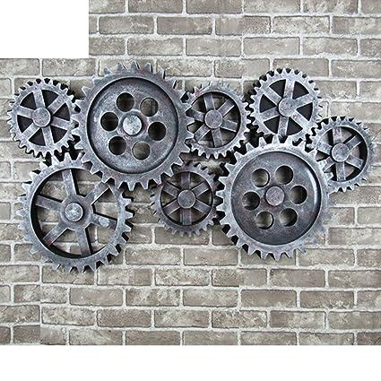 relojes vintage,reloj de engranajes,casa creativa reloj de pared,decoración, reloj