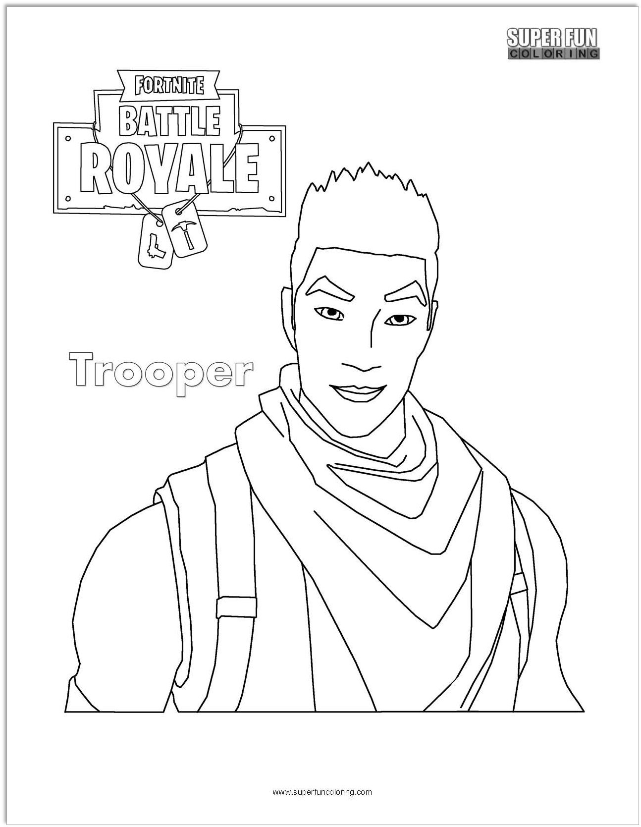 Reaper Skin Fortnite Coloring Pages Www Topsimages Com