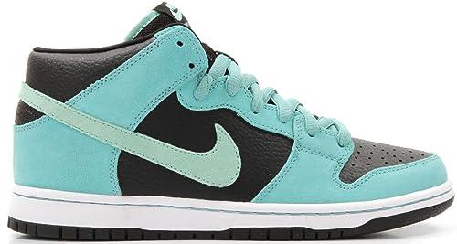 quality design 9e8fb 5d2df Nike Nike SB Dunk Mid Pro - Zapatillas de ante para mujer verde  BlackMedium MintSea Crystal 9 UK Amazon.es Zapatos y complementos