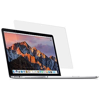 MyGadget Protection écran Crystal Clear pour Apple Macbook Pro Retina 15 pouces - 2013 à mi-2016 - Film HD Anti traces Shield rayures & Vitre bubble free