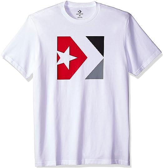 1d10f1f353156 Converse Star Chevron Box Tee T-Shirt Homme  Amazon.fr  Vêtements et  accessoires
