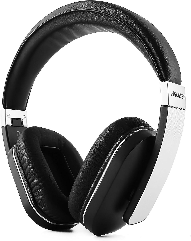 Cuffie Bluetooth Stereo Auricolari Wireless Pieghevole Headphones Bluetooth Over Ear Cuffie con Microfono integrato, Apt-X, Bassi Profondi per iPhone, Samsung, iPad, tablet e Altro