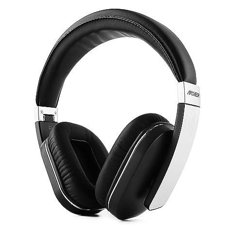Cuffie bluetooth Stereo Auricolari Wireless Pieghevole Headphones bluetooth  Over Ear Cuffie con Microfono integrato 0e16b031d585