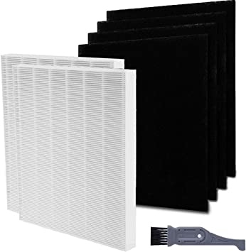 2 HEPA and 4 Carbon Replacement Filter Pack for Coway AP-1512HH 1512