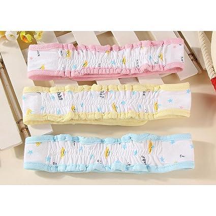 TJW Flexible con cierres de pañales para bebé algodón transpirable ajustable cálido fijo hebilla de cinturón